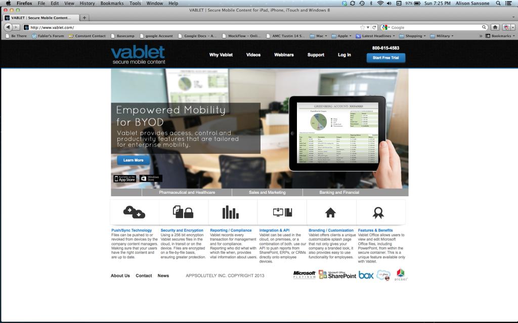 vablet.com