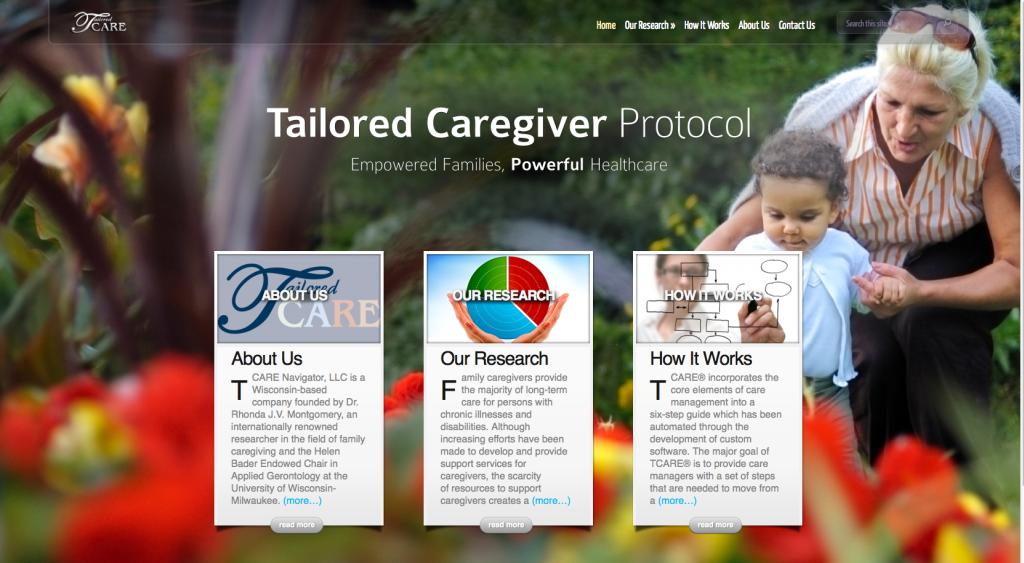 Branding, Web Design – TCARE Navigator