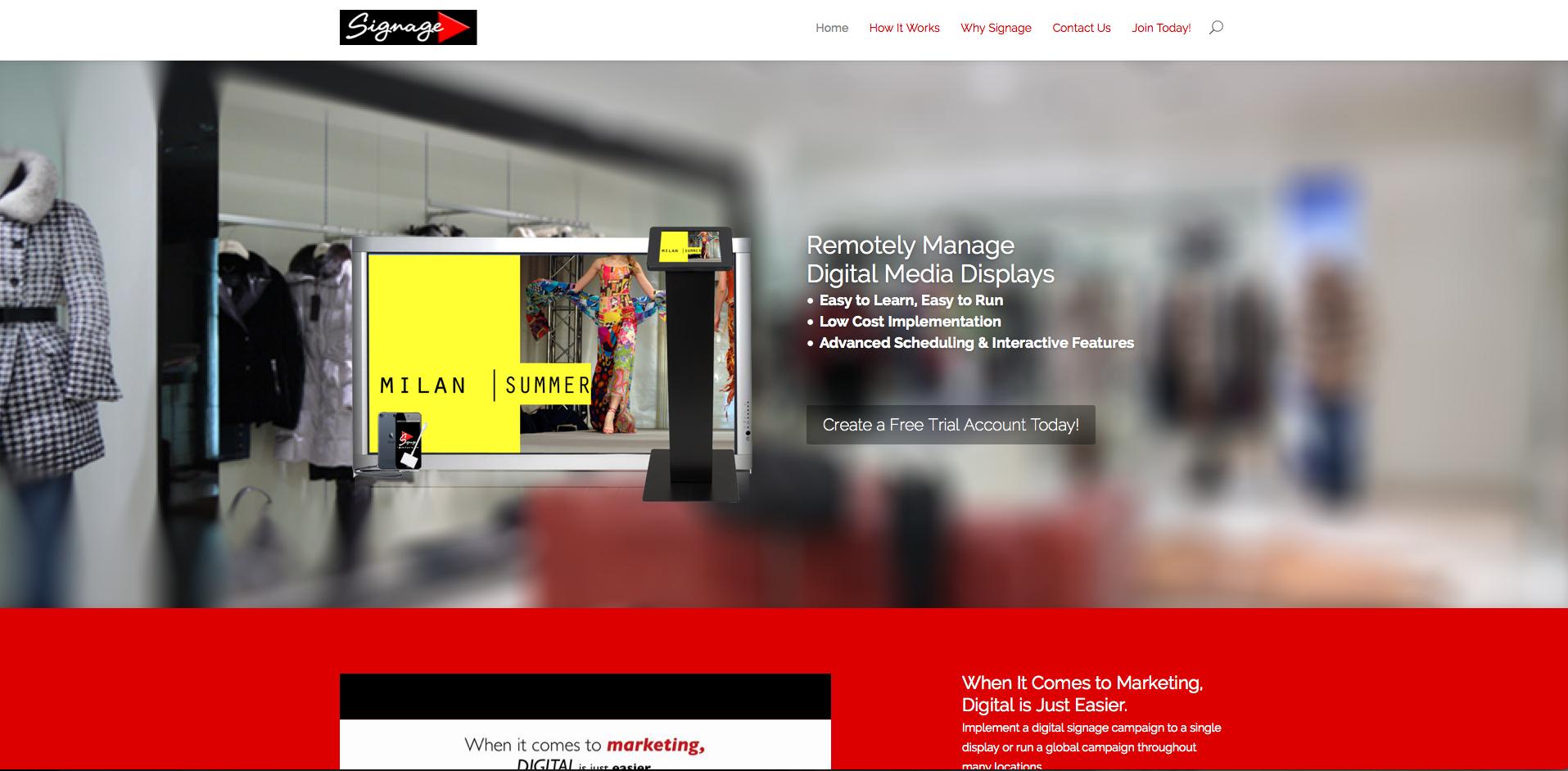 qualiant Media Design - vablet Website Development