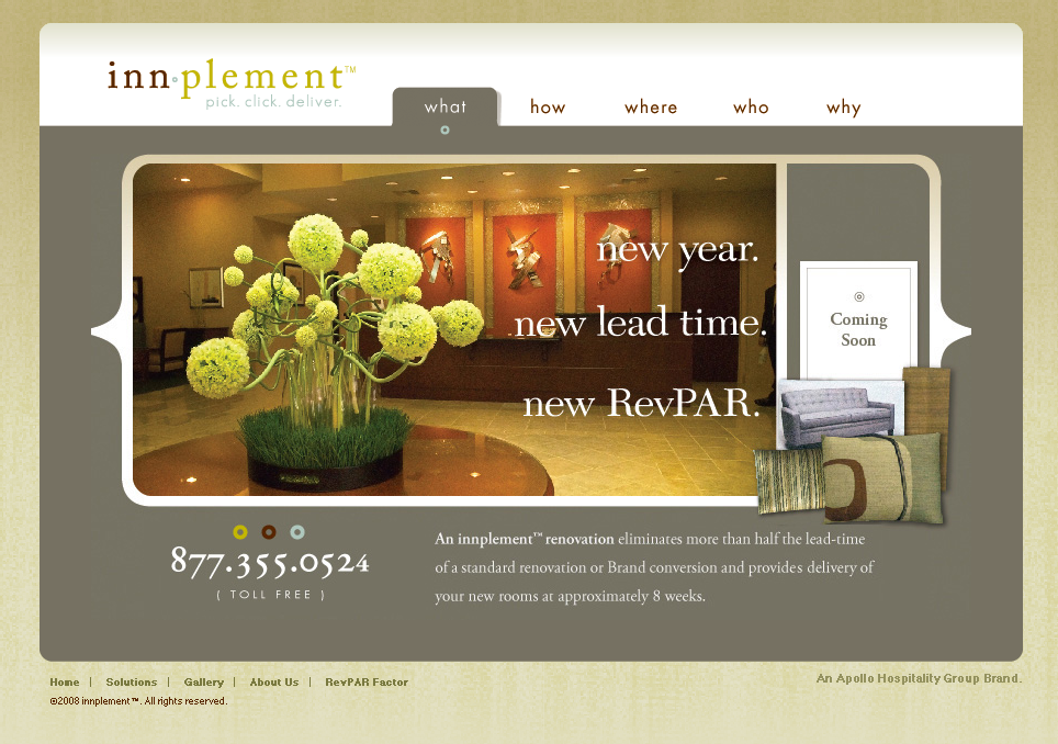 New Product Launch – innplement, Apollo Hospitality