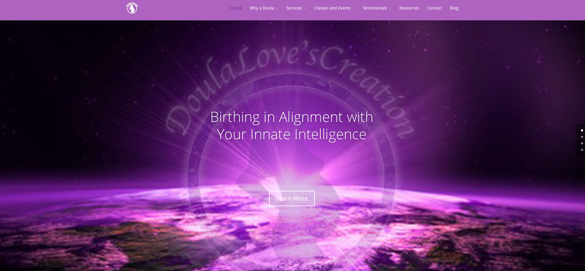 Modern Design Makeover and Strategic Marketing for DoulaLovesCreation