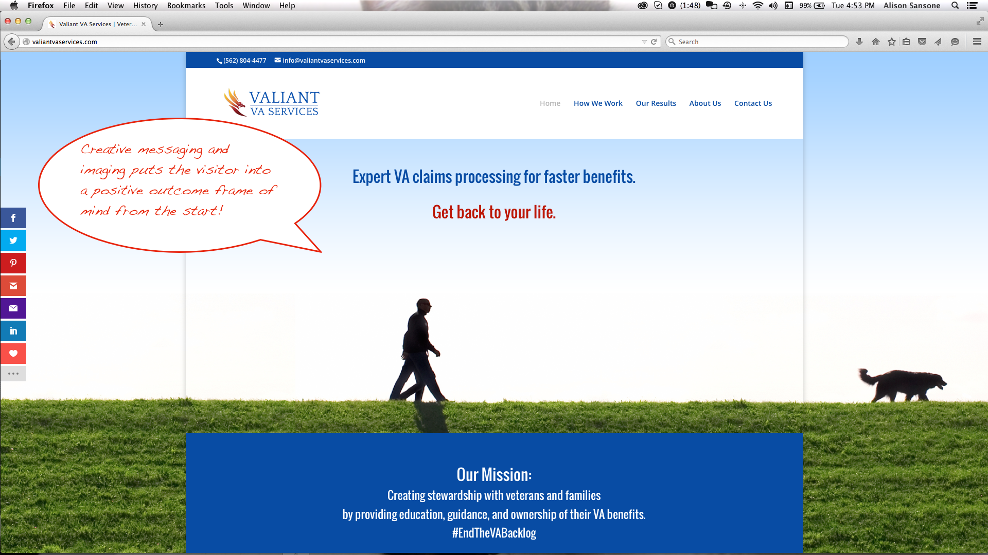 Another Awesome qualiant project - Valiant VA Services