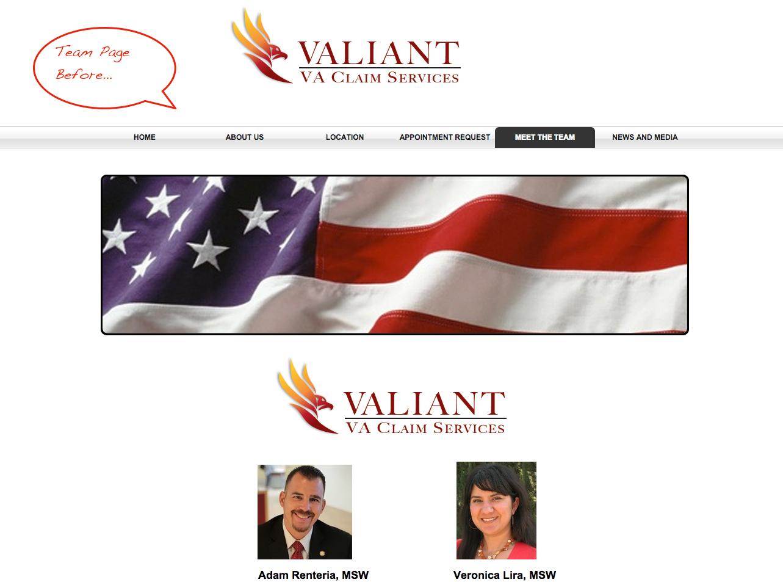 Valiant Team Before 3
