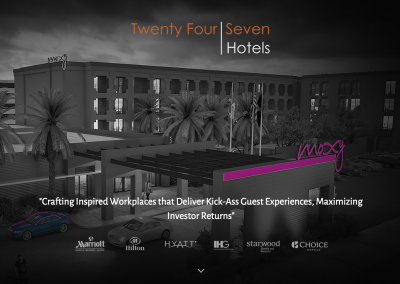 Re-Brand and Marketing Plan for Hotel Management Firm